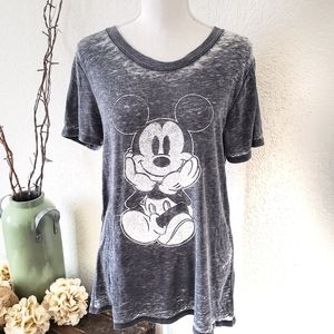 Disney Mickey Mouse Short Sleeve TShirt LG